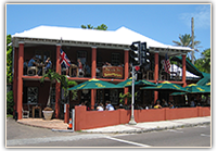 the swizzle inn, baileys bay, bermuda